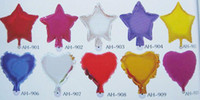 Wholesale 10 quot solid aluminium balloon series FOIL BALLOONS Birthday baloon Party balloons Holiday balloons