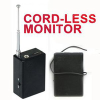 Wholesale New Spy Ear Bug Monitor GM910 Long distance Cord less monitor Sound pick up