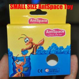 Малый размер Ant Homeland, Ant семинар, Ant Farm Экологические игрушки Пространственно-AGE TOY 120pcs / серия
