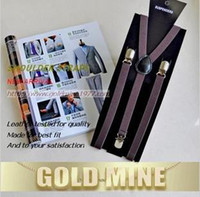 Wholesale Fashion fine men and women of the shoulder straps man straps lady general suspenders and color