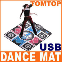 Wholesale Lowest Price Non Slip PC USB Dancing Step Dance Mat Mats Pads DDR BB032