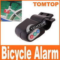 Wholesale Motorbike Alarm Security Bicycle Steal Lock Moped Bike guard against theft Waterproof H1252