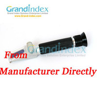 Wholesale hand held brix Illumination Refractometer ZGRB ATC
