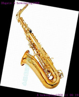 Wholesale 2011 Best Brand New soprano Saxophone Curved golden top quality free case