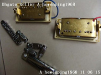 Wholesale Humbucker pick up with bridge amp pull string bridge a set