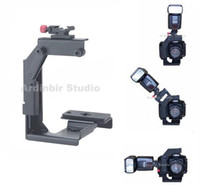 Wholesale Quick Rotating Flip Flash Bracket for SLR DLSR Camera