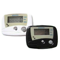 Wholesale LCD Step Pedometer counts steps Distance Walking Calorie Counter