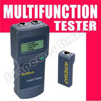Wholesale by UPS DHL EMS CAT5 RJ45 Network Cable Tester Meter Length SC8108