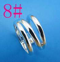 Wholesale cheap price Sterling Silver fashion jewelry pretty charm chain ring