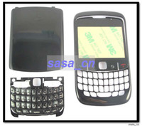 Wholesale Faceplate Housing for Blackberry Fascia Cover LCD Lens Keyboard and Back Cover