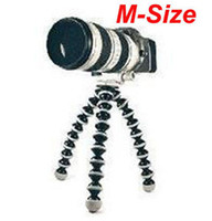 Wholesale M Size Mini Tripod Flexible Ball Leg for Digital Camera and Camcorder