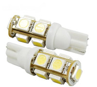Wholesale 10pcs T10 W5W SMD LED White Lamp Bulb V DC white red blue green