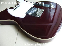 New arrival guitar body for TEL in Bordeaux(deep brown)
