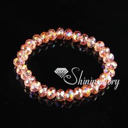 Crystal beads bracelete-stretch crystal bracelets wholesale crystal stretch bracelets wholesale