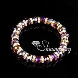 Crystal beads bracelete-strand wholesale crystal bracelets crystal bracelet wholesale cyb013 handmade fashion jewellery cyb013 cheap fashion
