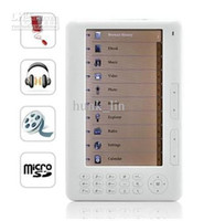Wholesale New quot inch E Reader GB Ebook Reader TFT Screen White