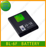 No 1100mah AAA battery BL-6F for cellphone N78 N79 N95-8G 6788i from factory,freeshipping via DHL,1100mAh