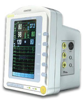 Wholesale CONTEC NEW Promotion Touch Screen Multi parameter Montior CMS ECG NIBP Spo2 Pulse Rate