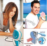 Wholesale USB Mini Portable Handheld Air Conditioner Cooler Fan for Sports Home Office