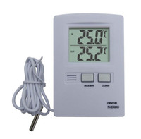 Wholesale New LCD Display Indoor Outdoor Temperature Thermometer TL8006