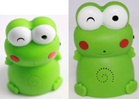 Wholesale Lovely Welcome Frog Device Motion Sensor Detector Chime Welcome Speaking Frog welcome