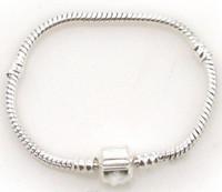 Wholesale Silver alloy chain Bracelet DIY Jewelry Accessories Silver chain Bracelet