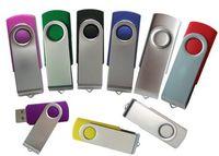 Acheter Oem flash usb-OEM 2.0USB Twister Disques durs USB Siwvel USB Disk Couleurs mixtes