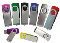 Wholesale OEM USB Twister USB Flash Drives Siwvel USB Disk Mixed colors