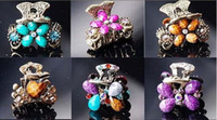 Wholesale 10pcs Mix Style Hair Clip Hair Ornaments For DIY Craft Fashion Jewelry Gfit HJ08