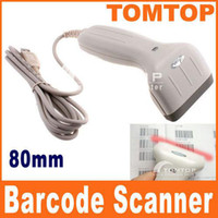 Wholesale 100 Brand New USB mm Long CCD BARCODE SCANNER BAR CODE READER scans sec H691