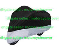 Wholesale Brand New Motorcycle Cover black silver