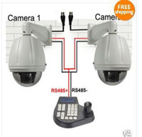 Indoor CCD  CCTV 27x zoom Outdoor PTZ Speed Cameras+controller set best seller egomall