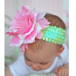 new arrival girl hairband flower girl's hairband baby hair strap girls' hair ties girls' headband