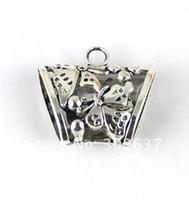 15PCS Tibetan silver Butterfly Bail A13879