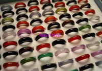 Wholesale Ring Jewelry Cute Agate Rings AG01
