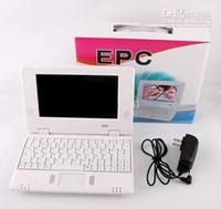 Wholesale 7 quot Notebook Mini Netbook PC Netbooks UMPC VIA8650 MHZ Android v2 Serval Colors GB amp Wifi