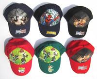 al plastic - Children accessories children hat Cartoon hat peaked cap sunbonnet lovely style AL