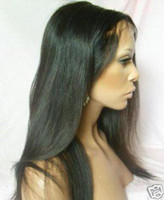 Wholesale Malaysian virgin remy human hair full lace wig with baby hair HOT PRODUCTS
