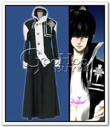 Wholesale Japanese Anime Cosplay Costume D Gray Man Kanda Yuu cosplay costumes