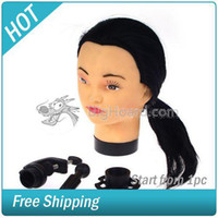 Wholesale Practice Cosmetology Mannequin Head Clamp Hairdressing