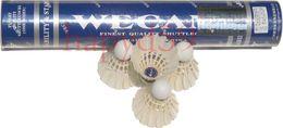 free ship 6 tubes Genuine WECAN badminton shuttlecock durable shuttlecocks 12balls Competition level