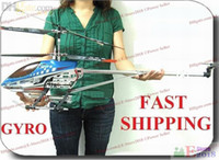 Wholesale 91CM Sky King Big Metal CH Large RC Helicopter Gyro Radio Remote Control Copter Toy HCW