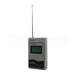 Wholesale Mini Handhold Frequency Counter Gy560 New Gray A0715F