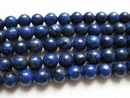 """DIY semi-finished products Lapis Lazuli 6mm Round Loose Strands Beads 16"""""""