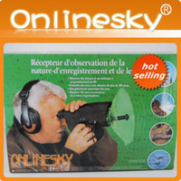 Wholesale Versatile x Optics Listening and Recording Device Headphones for Wildlife Observation