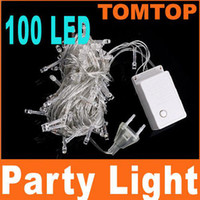 Wholesale White LED Little Bulbs m String Light for Christmas Party Wedding V V H4226W