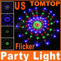 Wholesale Beautiful V V Colorful RGB LED Net Light Party Wedding Strips for xmas christmas H4188