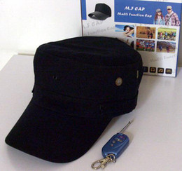 Spy Hat Cap Mini Hidden Camera 640x480 Spy MP3 Camera DVR sports Cap with Remote Control