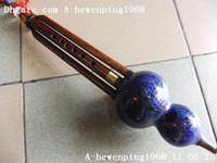 Wholesale new Sandalwood Cloisonne Octaves Gourd Flute Hulusi Cloisonne