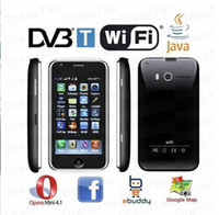 Wholesale Changjiang W009E inch touch screen DVB T digital and Analog TV WIFI dual SIM Phone